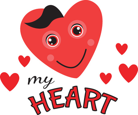 lovable: Squeeze love into your day with this huggable Valentine heart.  Use this lovable design on your holiday projects!