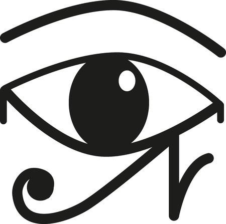 ojo de horus: El ojo de Horus es un símbolo egipcio antiguo de la protección, del poder real y la buena salud. Este diseño es perfecto cultura africana en el bordado enmarcado, cojines y mucho más.