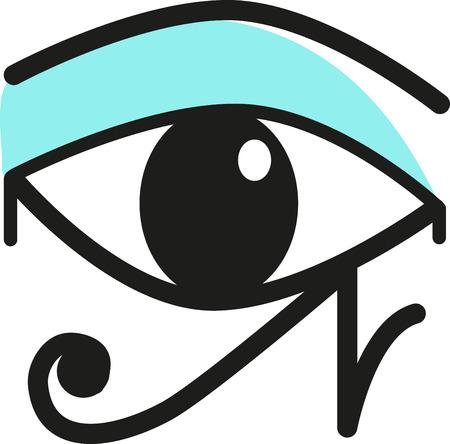 ojo de horus: El ojo de Horus es un s�mbolo egipcio antiguo de la protecci�n, del poder real y la buena salud. Este dise�o es perfecto cultura africana en el bordado enmarcado, cojines y mucho m�s.