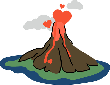 magma: Love is the flame that sets your hearts on fire!  Celebrate the month of love with this design on your Valentines projects.