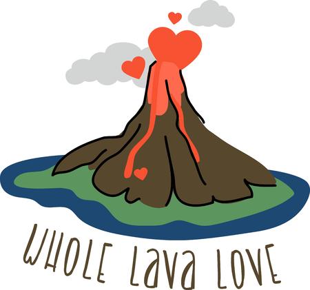 愛は、火災にあなたの心を設定する炎! このデザインであなたのバレンタイン プロジェクトで愛の月を祝います。
