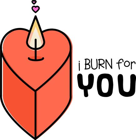 heart burn: Love is the flame that sets your hearts on fire!  Celebrate the month of love with this design on your Valentines projects.