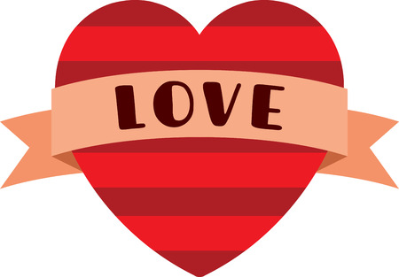 riband: Spread the love on your Valentines Day projects with this design!  Stitch a lovely look onto towels, table linens, pillows and more!