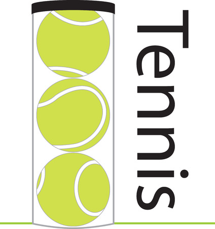 Game, Set  Match!  This design is perfect on apparel, hats, gym bags and other accessories for your tennis enthusiasts!