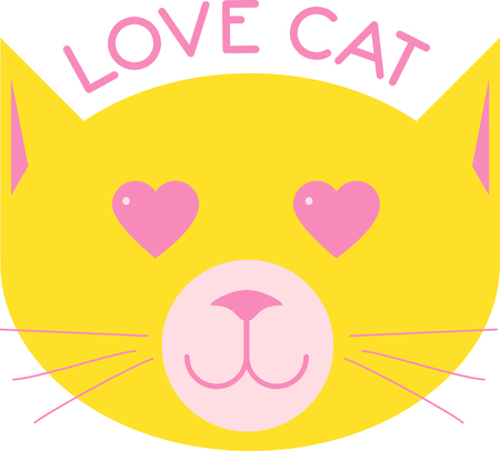 With pounce-perfect poise and a whisper-soft tongue, the ever-finicky feline works its magic on your heart. Cat lovers delight in the adorable design on t-shirts, kitchen towels and more.