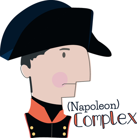 napoleon: Celebrate Napoleons legacy and his great leadership skills with this design on clothing, scarves, framed embroidery and more! Illustration