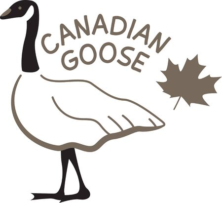 canada goose: This charming design will make great design for farm-themed projects and on tote bags for the grocery store or farmers market!
