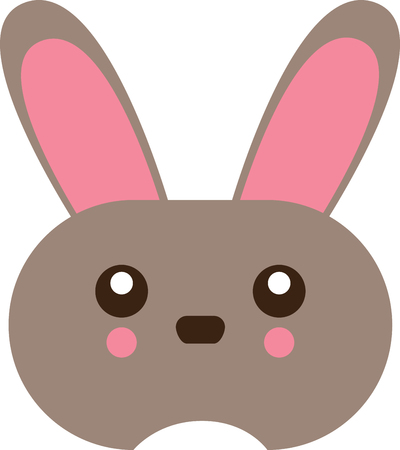 jackrabbit: Cute and fluffy bunny is ready for all the festivities! This design will be fabulous on all your Easter projects!
