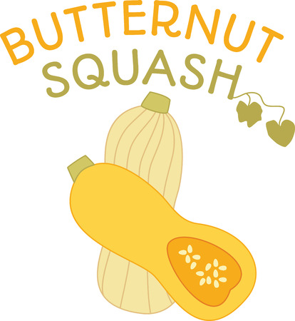 butternut squash: Savor the flavors of everyday real food, fresh from the garden with this design on cozies, kitchen towels and more.