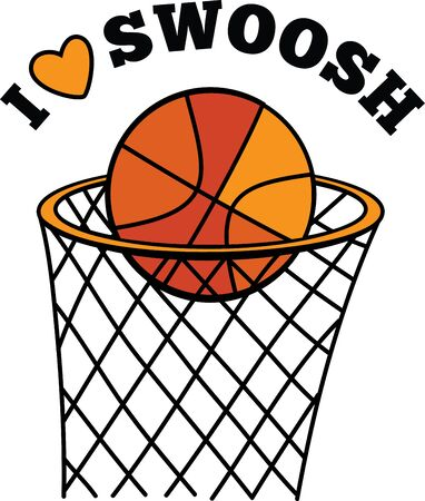 sweatshirts: This slam-dunk design is perfect for basketball enthusiasts on towels, tote bags, sweatshirts and more!