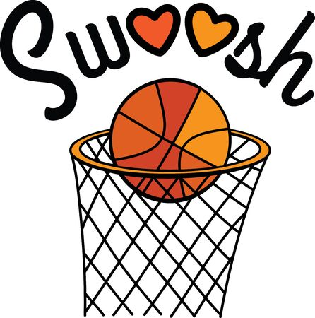 This slam-dunk design is perfect for basketball enthusiasts on towels, tote bags, sweatshirts and more!