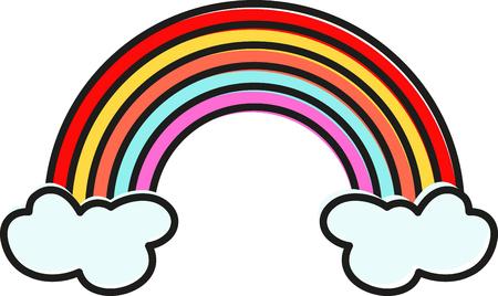 虹の終わりに金の鍋にレプラコーンを従ってください。 このデザインで聖水田の日プロジェクトはラッキー!
