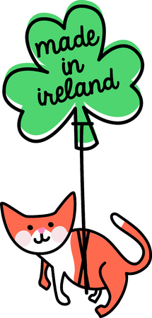 animal st  patricks day: Make St. Patricks Day festive with this adorable design on tees, totes, aprons, pillows, kitchen towels and more!