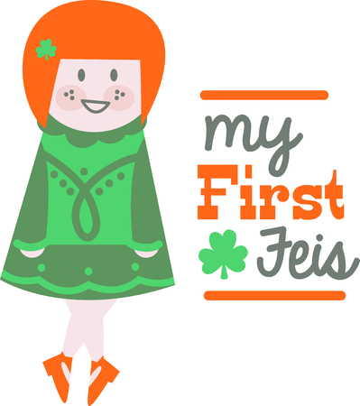 erin: Shine your dancing shoes to get ready for some fast paced Irish jig!  Make St. Patricks Day festive with this design on tees, totes, aprons, pillows, kitchen towels and more! Illustration