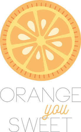 navel orange: This zesty citrus can freshen up a winter kitchen and is perfect on table linens, area rugs, kitchen mats, wall decor, wall plaques and more. Illustration