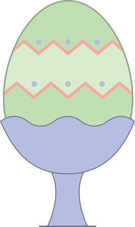 cracking: Enjoy a cracking Easter with this design on throw pillows, napkins, sweatshirts, bags and more. Illustration