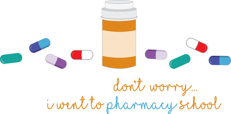 prescription bottles: You entrust your health to your doctor or pharmacist. This design is perfect for thanking them. They will love it.