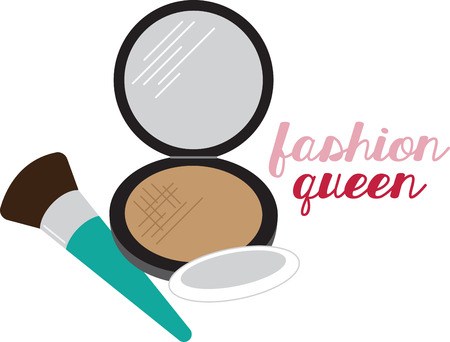 Add glamor to your projects with this perfect motif on cosmetic bags, lipstick holders, room decor, bath towels and more. Stock Vector - 53158238