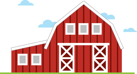 grain storage: This charming design will make great design for farm themed projects and on tote bags for the grocery store or farmers market.