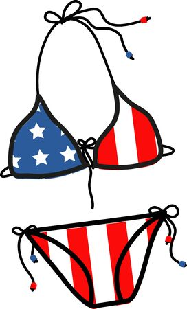 scarves: Show off your patriotic side by wearing this design on t-shirts, scarves, hats and more for Independence Day!