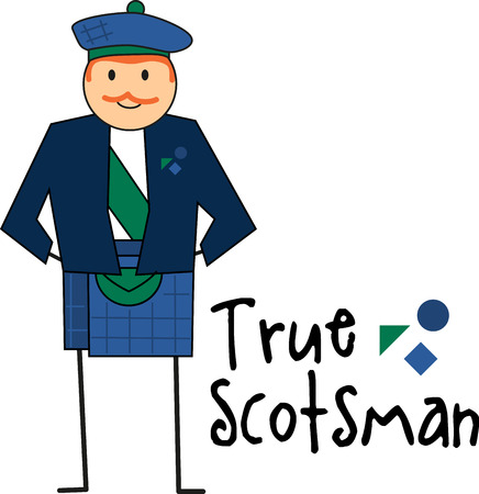 european culture: Embrace Scotland and its culture with this Celtic embroidery design and take  pride in its heritage on your projects. Illustration