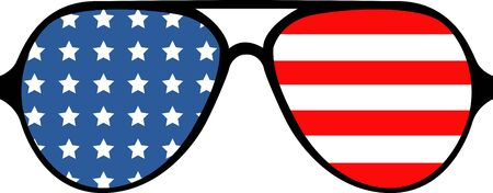eye wear: Show off your patriotic side by wearing this design on t-shirts