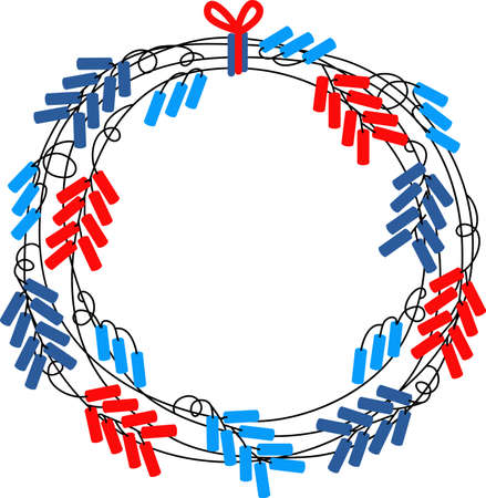 Show off your patriotic side by wearing this design on t-shirts