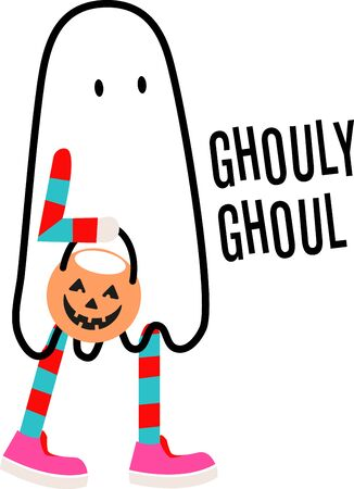 prepare: Warning!  Ghosts gather here.  Prepare to have a hauntingly delightful Halloween with this design on t-shirts, hoodies, hats, warm-ups and more for the little ones!