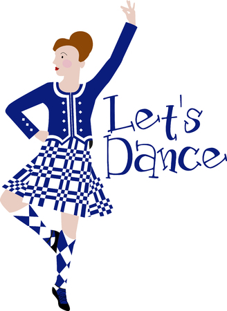 춤은 스코틀랜드의 문화의 강점입니다. 액자 자수, 의상 및 기타에이 디자인으로 멋지고 표현적인 예술 형식을 즐기십시오!