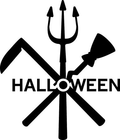 Préparez-vous à avoir une Halloween curieusement délicieuse avec ce design sur des t-shirts, des hoodies, des chapeaux, des échauffements et plus pour les plus petits! Banque d'images - 55093414