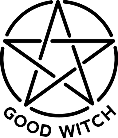 wicca: Wicca, pagan, witch, religious, symbol, logo, icon, star, pentagram, shape, circle, round