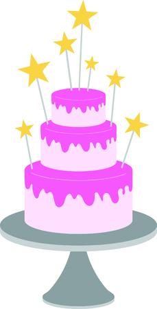 ケーキは、さらに特別なお祝いを作る! 特別なプロジェクトでこのカラフルなお祭りで楽しい装飾をお楽しみください。