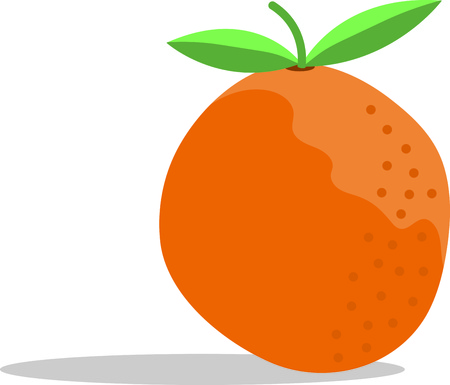 clementine fruit: This zesty citrus can freshen up a winter kitchen and is perfect on table linens, area rugs, kitchen mats, wall decor, wall plaques and more. Illustration