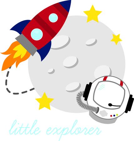 星にあなたの創造性を爆破する準備をしなさいと t シャツ、パーカー、帽子、ウォーム アップ、小さな宇宙飛行士のための多くでこのキュートなデ