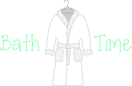 bath robes: Accessorize to your hearts desire.  Get this design on your indoor projects and add personality to your style. Illustration