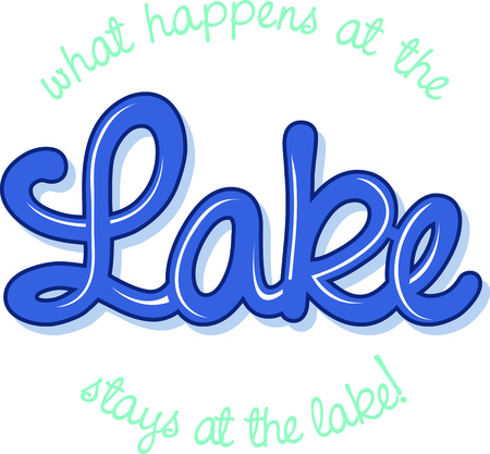 script writing: Time to soak up the best days of summer in the woods and on the lakes.  This design is perfect on projects for your outdoor lovers.