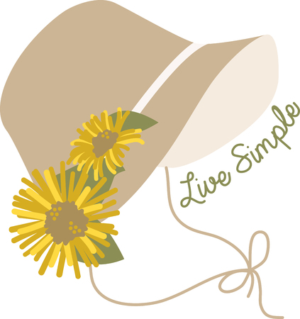 Create a splendid look for summer with this cheerful design on framed embroidery, throw pillows, clothing and more!