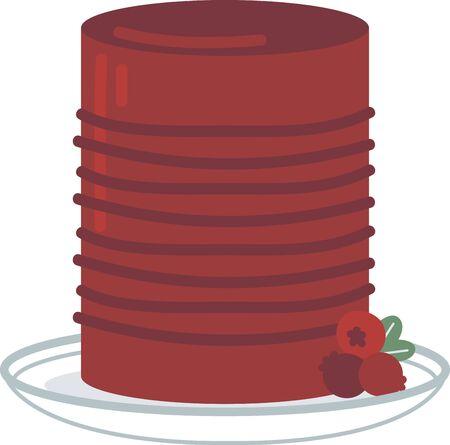 Este diseño festivo colorido es perfecto en los regalos, caminos de mesa, ropa de cocina, decoración del hogar y en todas las cosas de Acción de Gracias! Ilustración de vector