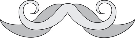 Do not mess with the mustache.  This swag hipster design will look good on apparel, room decor and much more.  Let your imagination fly.