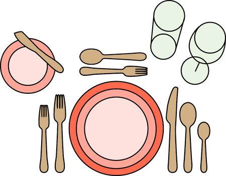 mats: Make every meal seem like a little more fancier with this design on table mats, kitchen linen and more!