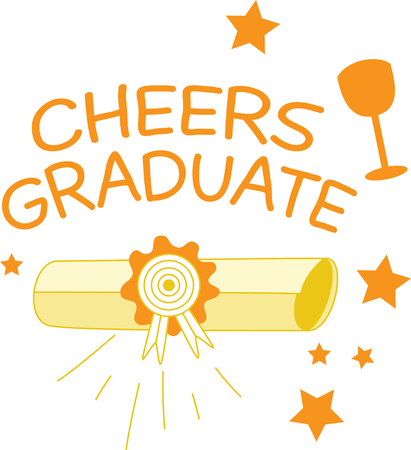 grad: Share stories and preserve memories.  This design is great to use as a decoration for your grad party and also makes a great keepsake.