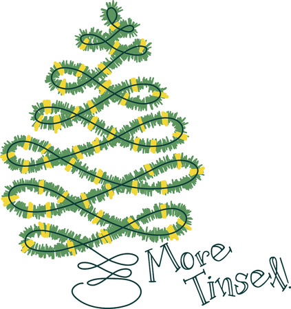 tannenbaum: Here's to spreading a little merry! Get creative on your holiday projects with this design on sweaters, sweatshirts and more. Illustration