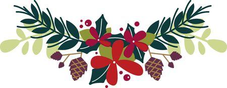 Star Dust, hulst takken en pruimen taart. Stuur tijdingen van zoetheid en vrede met dit ontwerp op uw kerst projecten!