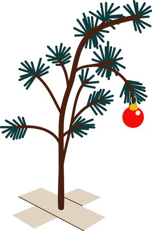 conifers: Deck the halls and the rest of your home in Christmas cheer with this design on your holiday projects.