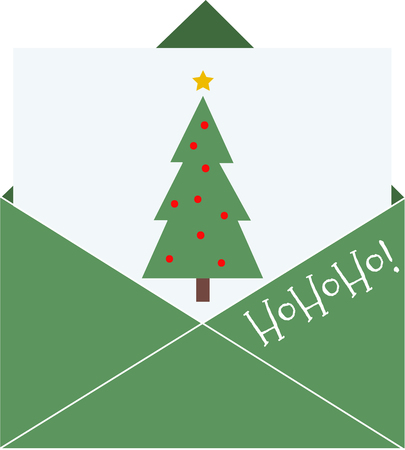 christmas mail: Discover the splendor of Christmas with this design on sweaters, sweatshirts and other holiday projects!