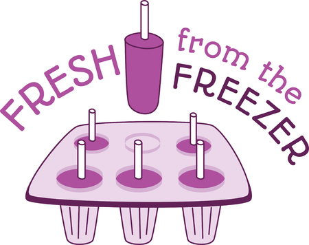 Stay cool this summer with this ice cold treat on kitchen linen, tablecloths and more!