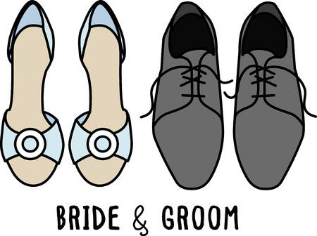 loafer: Toast to love! Time to celebrate with this perfect design on napkins and personalized gifts for the newlyweds! Illustration