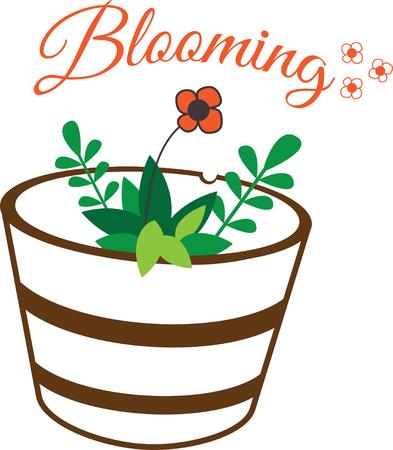 Bloemen voegen een unieke stijl toe en juichen elke ruimte toe. Krijg de geest van de lente op uw projecten met dit ontwerp.
