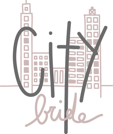 This fun design will make a great keepsake for your city slickers on framed embroidery, t-shirts, sweatshirts, towels and more.
