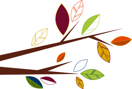 limb: Fall leaves are some of nature's showiest treasures and will be make pretty decorations as corners and frames on towels, pillows, sweatshirts and more!